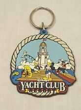 DISNEY'S YACHT CLUB RESORT LASER CUT KEY CHAIN - RARE - COLLECTABLE