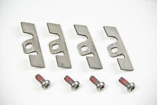 Mitsubishi Evo 5 6 7 Rear Caliper Pad Guide Plate Stainless Steel Shims Screws