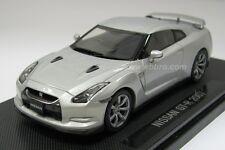 EBBRO 2007 Nissan GT-R (Silver) 1/43 Scale Diecast Model NEW, RARE!