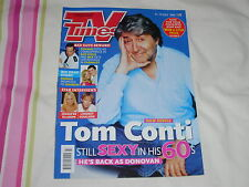 TVTIMES 9-15 JULY 2005 TOM CONTI AS DONOVAN FRONT COVER EXCELLENT CONDITON