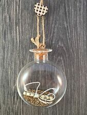Sass & Belle - Golden Fairy Dust Make A Wish Christmas Bauble, Ornament or Gift