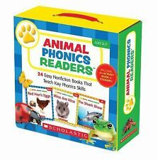 Animal Phonics Readers Parent Pack : 24 Easy Nonfiction Books That Teach Key Pho