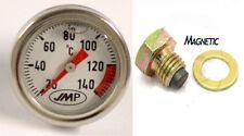 Suzuki vs 1400 GLF Intruder 1987 Magnético Tapón De Drenaje & Medidor de Temperatura del Aceite