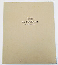 De Bournais Decorateur Ebeniste product guide French furniture sample binder