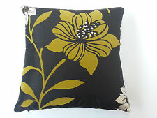 "Kimura Bumblebee By iliv Yellow Floral Cushion Cover 40cm x 40cm (16"" x 16"" Apx)"