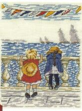 All Our Yesterdays The Sail Boats Cross Stitch Kit 12.5cm x 17.5cm Limited Editn