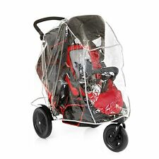 NEW HAUCK RED FREERIDER DOUBLE TWIN TANDEM STROLLER PUSHCHAIR BABY BUGGY