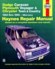 Dodge Caravan/Plymouth Voyger/Chrysler Town & Country HAYNES Repair Manual-84-95