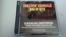 "FUN LOVIN' CRIMINALS ""BAG OF HITS"" 2 CD 27 TRACKS RARE PROMOTIONAL"