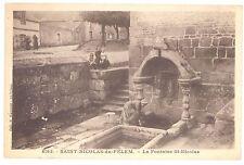 CPA 22 - SAINT NICOLAS DU PELEM (Côtes d'Armor) - 6193. La Fontaine St-Nicolas