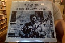 B.B. King Live in Cook County Jail LP sealed vinyl RE reissue