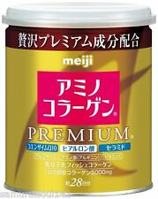 F/S Amino Collagen Premium Powder Japan meiji 28days Can type 200g NEW!