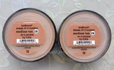 Bare Minerals Escentuals SPF 15 Foundation MEDIUM TAN- C30 8g XL  PACK OF 2