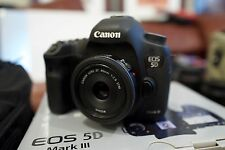 Canon EOS 5D Mark III Digital SLR Camera Used w/ 40mm Lens - 6245 Shutter Count