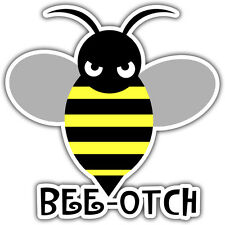 BEE OTCH sticker, transformers bumblebee movie 88 x 88mm JDM