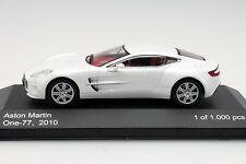 Whitebox-WB159 aston martin ONE-77 blanc échelle 1:43.