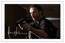 ANDREW LINCOLN THE WALKING DEAD AUTOGRAPH SIGNED PHOTO PRINT SEASON 1,2,3 & 4