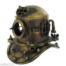 NAUTICAL DECOR  Scuba Mini Diving Divers Helmet US Navy Mark V Solid Steel NEW!!