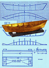 Build a Swampscot dory 1:12 scale model Full size printed plans & building notes