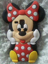 SILICONE CASE MINNIE1 RED for SAMSUNG GALAXY S DUOS S7562/TREND S7560/S7580