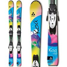 2015 Fischer KOA 120cm Jr skis with FJ4 AC Rail bindings A20714