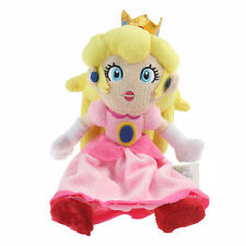 Super Mario Bros. Plush Princess Peach Soft Toy Doll Teddy 9in HOT