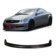 Fit for 2003-2006 INFINITI G35 2dr Coupe NS Style Front Bumper Add on Lip - PU