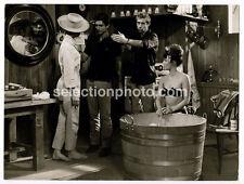 M. DEVILLE, S. FREY, S.KOSCINA, tournage de L'APPARTEMENT DES FILLES, 1963