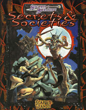 Sword  Sorcery : Secrets & Societies -   D20 3 -  RPG Softback - New