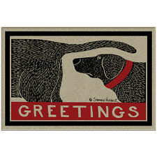 NEW Humorous Greetings Dog Sniffing Welcome Doormat