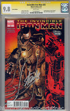 INVINCIBLE IRON MAN #24 CGC 9.8 VARIANT SS STAN LEE HIGHEST GRADED  #1270950027