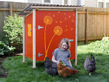 Backyard Chicken Coop Plans: The Basic Coop Plan How-To eBook on USB Flash Drive