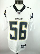 NFL CHARGERS Reebok Authentic Jersey Merriman 56 Football San Diego Mens Small S