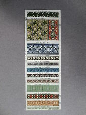 BOOKMARK Jackfield Tile Museum Victorian Tile Designs Illustration 1989 Art