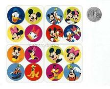 48 Mickey Mouse Clubhouse Dot Stickers Party Goody Loot Bag Filler Favor Supply