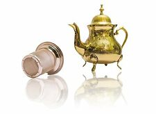*BRAND NEW* Gorgeous 100% HANDMADE Brass Teapot with Stainless Steel Tea Infuser