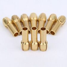 10* Brass Collet Nut Adapter 3.2mm Fits Dremel Durable Drill Rotary Tools New