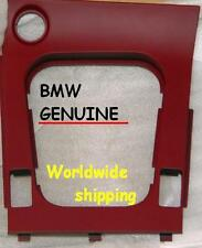 BMW Z3 2000-2002 Red Center Console Trim Switch Cover Genuine NEW