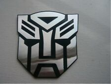 Transformers Autobots 3D ALUMINIUM Car Badge Emblem Sticker Home/Office/Laptop