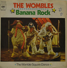 "THE WOMBLES - BANANA ROCK - THE WOMBLE SQUARE DANCE Single 7"" (I037)"