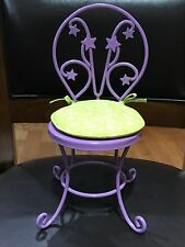 American Girl Doll of the Year Retired McKenna Loft Bed Purple Metal Chair ONLY