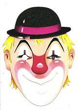 Maschera di CARNEVALE  -  CLOWN................anni '60