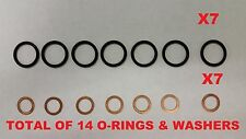 Mercedes ORIGINAL NEW Delivery Valve O-Ring ORing Seal Metal Copper Crush Washer