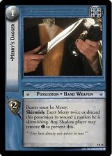 LOTR TCG Reflections FOIL Merry's Dagger 9R18