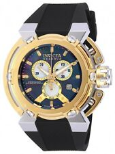 New Men's Invicta 18727 Reserve X-Wing Swiss Black MOP Dial Silicone LE Watch