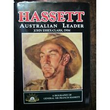 Hassett Australian Leader Korean War 3RAR Battle Maryang San Book