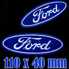 1 x FORD Large Patch Advertising Iron On Patch Embroidered Automobile GT Racing