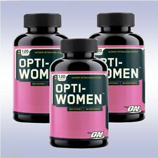 OPTIMUM NUTRITION OPTI-WOMEN (3-PACK: 120 CAPSULES EACH) multivitamin on