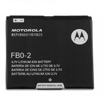 OEM Motorola Triumph Battery FB0-2 Black WX435 FB02 Li-ION 1380mAh fbo2