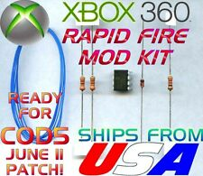 XBOX 360 CONTROLLER STEALTH RAPID FIRE MOD KIT BIOSHOCK HALO GEARS MW3 ONLINE!!